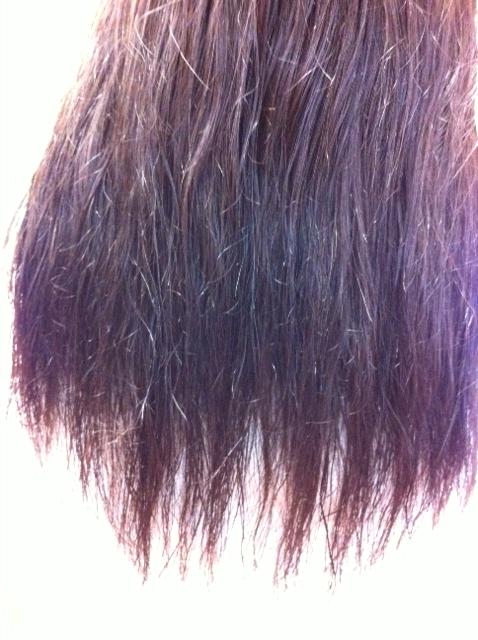 ビビリ毛,縮毛矯正失敗